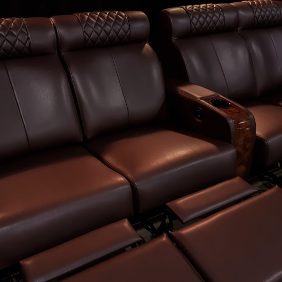 The Luxury of our Cinema Seating