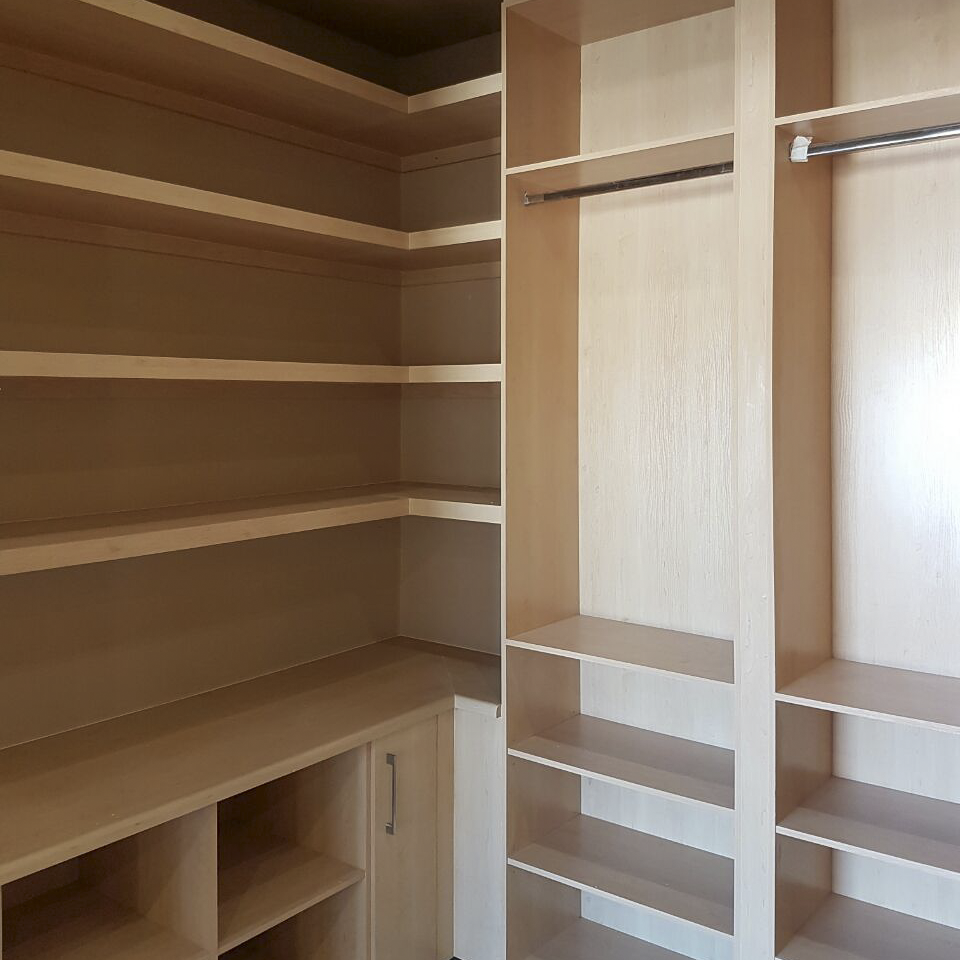 CUPBOARDS & DRESSING ROOMS